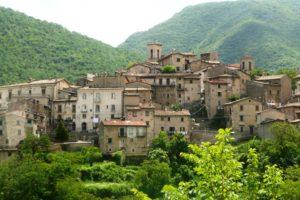 Middeleeuws dorpje